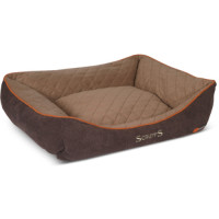 Scruffs Thermal Box Dog Bed Brown Extra Large
