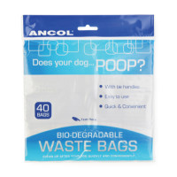Ancol Biodegradable Poop Bags for dogs 40 Bags