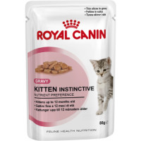 Royal Canin Health Nutrition Kitten Instinctive Kitten Food 85g x 12