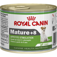 Royal Canin Mature +8 Senior Dog Food 195g x 12