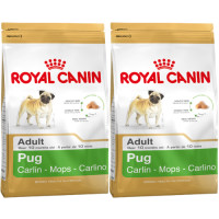Royal Canin Pug Adult Dog Food 7.5kg x 2