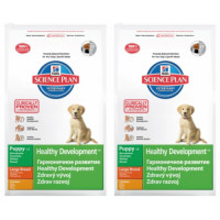 Hills Science Plan Puppy Healthy Development Large Chicken 11kg x 2