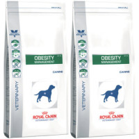 Royal Canin Veterinary Obesity Management DP 34 Dog Food 14kg x 2
