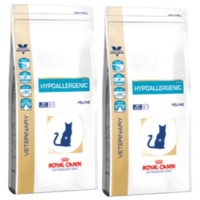 Royal Canin Veterinary Diets Hypoallergenic DR 25 Cat Food 4.5kg x 2