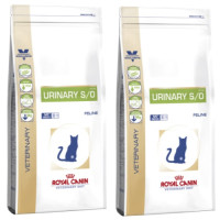 Royal Canin Veterinary Diets Urinary SO Cat Food 7kg x 2