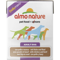 Almo Nature Daily Menu Chicken & Beef Adult Dog Food 375g x 12