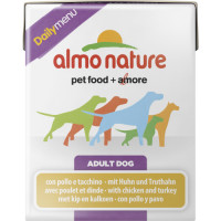 Almo Nature Daily Menu Chicken & Turkey Adult Dog Food 375g x 12