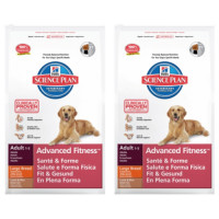 Hills Science Plan Canine Adult Advanced Fitness Large Lamb 12kg x 2