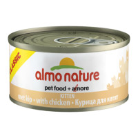 Almo Nature Classic Tins Kitten Food 70g x 24 Chicken