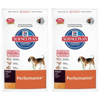 Hills Science Plan Canine Adult Performance Chicken 12kg x 2