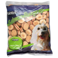 Pointer Salmon Burgers Dog Biscuits 500g