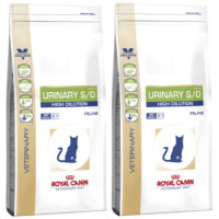 Royal Canin Veterinary Diets Urinary SO High Dilution Cat Food 7kg x 2