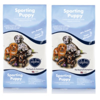 Alpha Sporting Puppy Food 15kg x 2