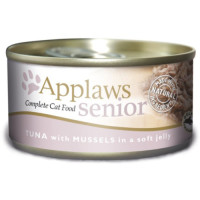 Applaws Tuna & Mussels in Jelly Tinned Senior Cat Food 70g x 24