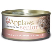 Applaws Tuna & Salmon in Jelly Can Senior Cat Food 70g x 24