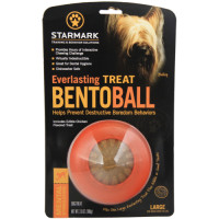 Starmark Everlasting Treat Bento Ball Dog Toy Large