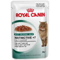 Royal Canin Health Nutrition Instinctive +7 Jelly Cat Food 85g x 12