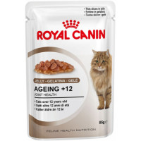 Royal Canin Health Nutrition Ageing +12 in Jelly 85g x 12