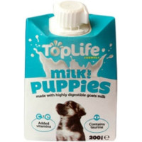 Toplife Goats Milk For Puppies  18 x 200ml