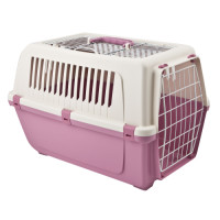 Rosewood Vision Plastic Cat Carrier Cotton Candy