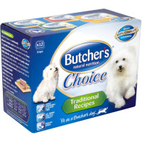Butchers Choice Adult Multipack Dog Food 150g x 12