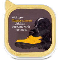 Waitrose Chicken Supreme with Potatoes Adult Dog Food 300g x 9