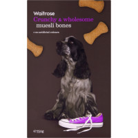Waitrose Special Recipe Muesli Biscuit Bones Dog Treats 750g