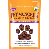 Pet Munchies Dog Training Treats 50g - Liver & Chicken