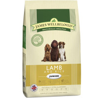 James Wellbeloved Lamb & Rice Junior Dog Food 15kg