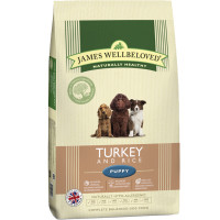 James Wellbeloved Turkey & Rice Puppy Food 15kg
