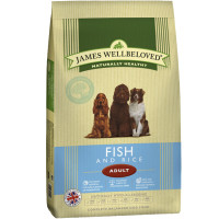 James Wellbeloved Ocean Fish & Rice Adult Dog Food 15kg