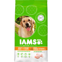 IAMS Chicken Light for Overweight / Sterilised Adult Dog Food 12kg x 2