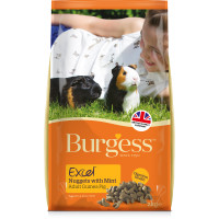 Burgess Excel Nuggets Guinea Pig Food 10kg