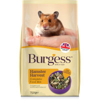 Burgess Complete Hamster Harvest Food 750g