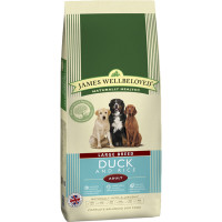 James Wellbeloved Duck & Rice Adult Large Breed Dog Food 15kg