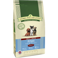 James Wellbeloved Ocean Fish & Rice Adult Small Dog Food 7.5kg