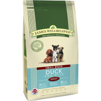 James Wellbeloved Duck & Rice Adult Small Breed Dog Food 7.5kg