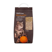 Waitrose Wood Pellet Cat Litter 10 Litre