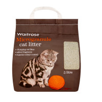 Waitrose Microgranule Cat Litter 5 Litre