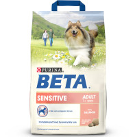 BETA Salmon & Rice Sensitive Adult Dog Food 2.5kg