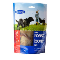 Hollings Mini Roast Bone Dog Treat 2 Pack