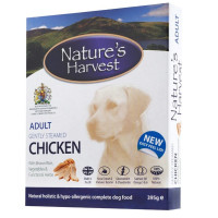 Natures Harvest Chicken Adult Dog Food 395g x 10