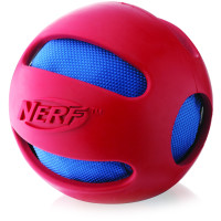Nerf Dog Crunchable Ball Toy Red