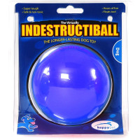 Happy Pet Indestructiball Dog Toy Blue Small