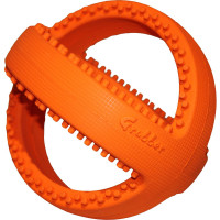 Happy Pet Grubber Ball Interactive Dog Toy Football