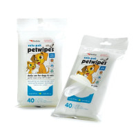 Petkin Eco Wipes For Dogs & Cats