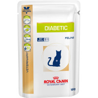Royal Canin Veterinary Diabetic Cat Food  100g x 48