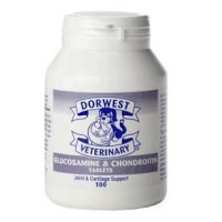 Dorwest Glucosamine & Chondroitin Tablets for Dogs & Cats x100
