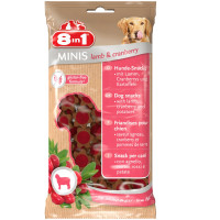 8in1 Minis Dog Treats Lamb & Cranberry