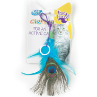 Pet Brands Carnival Feather Cat Toy
